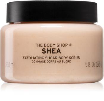 The Body Shop Shea cukros peeling