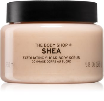 The Body Shop Shea cukrový peeling