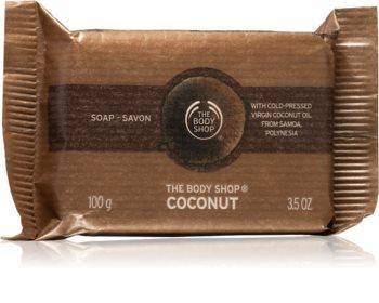 The Body Shop Coconut přírodní tuhé mýdlo s kokosem