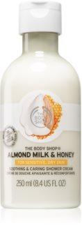 The Body Shop Milk&Honey sprchový krém s mlékem a medem