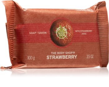 The Body Shop Strawberry přírodní tuhé mýdlo