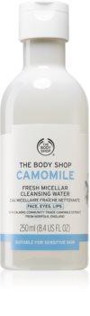 The Body Shop Camomile reinigendes Mizellenwasser mit Kamille