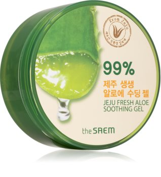 The Saem Jeju Fresh Aloe 99% hydratační a zklidňující gel