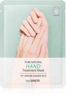 The Saem Pure Natural Hand Treatment feuchtigkeitsspendende Maske für die Hände
