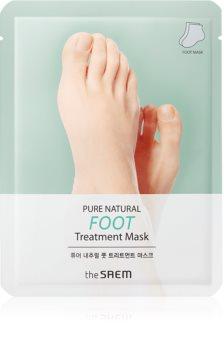 The Saem Pure Natural Foot Treatment hydratační maska na nohy