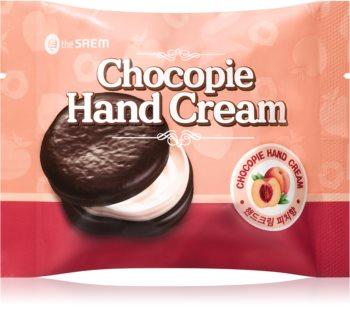 The Saem Chocopie Peach tápláló kézkrém