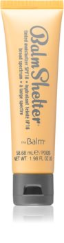 theBalm BalmShelter crema hidratante con color SPF 18