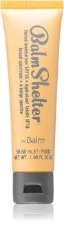 theBalm BalmShelter crème teintée hydratante SPF 18