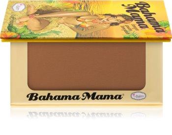 theBalm Bahama Mama Bronzer, Eyeshadows And Contouring Powder In One