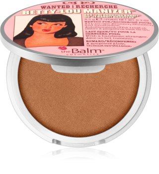 theBalm Betty - Lou Manizer bronzeador e sombra de olhos em um
