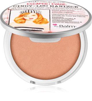 theBalm Cindy - Lou Manizer iluminador y sombras de ojos con acabado brillante  en un solo producto