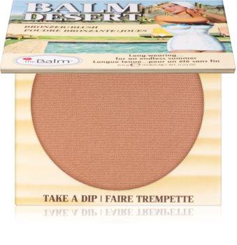 theBalm Balm Desert blush com efeito bronzeador
