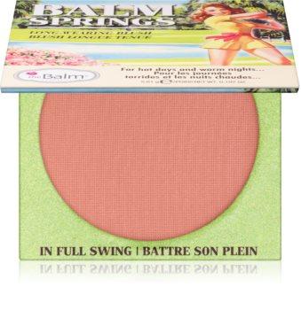 theBalm Balm Springs blush longue tenue
