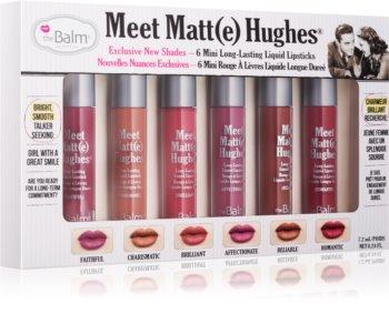 theBalm Meet Matt(e) Hughes lote cosmético II.