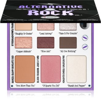 theBalm Alternative Rock Vol. 1 Multifunctional Face Palette
