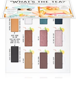 theBalm What's the Tea? Ice Tea Lidschatten-Palette