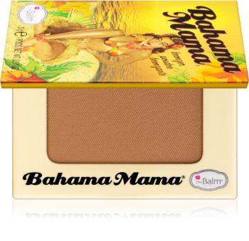 theBalm Bahama Mama Travel Size bronzer, cienie i puder do konturowania w jednym