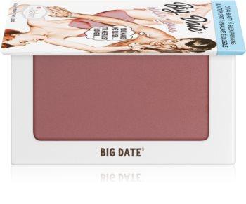 theBalm Big Date® blush et fard à paupières en un seul produit