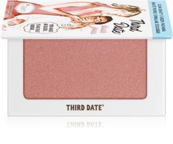theBalm Third Date® blush et fard à paupières en un seul produit