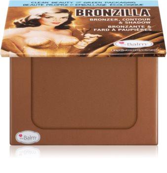theBalm Bronzilla® bronzer, fard de ochi si pudra pentru contur intr-unul singur