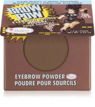 theBalm Browpow® Eyebrow Powder in a Practical Magnetic Case