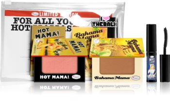 theBalm For All You Hot Mamas ensemble (visage et yeux)