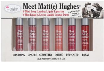 theBalm Meet Matt(e) Hughes kosmetická sada I. pro ženy