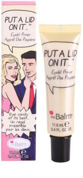 theBalm Put A Lid On It Eyeshadow Primer