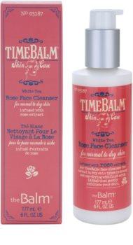 theBalm TimeBalm Skincare Rose Face Cleanser gel cremoso limpiador suave para pieles normales y secas