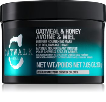 TIGI Catwalk Oatmeal & Honey intensive nährende Maske für trockenes und beschädigtes Haar