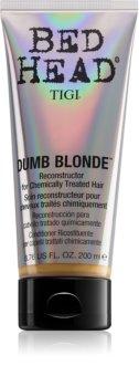 TIGI Bed Head Dumb Blonde acondicionador para cabello químicamente tratado