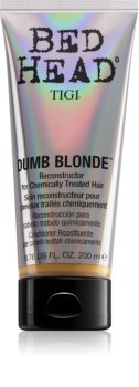 TIGI Bed Head Dumb Blonde Conditioner For Chemically Treated Hair