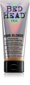 TIGI Bed Head Dumb Blonde Hoitoaine Hiuksille Kemiallisen Käsittelyn Jälkeen