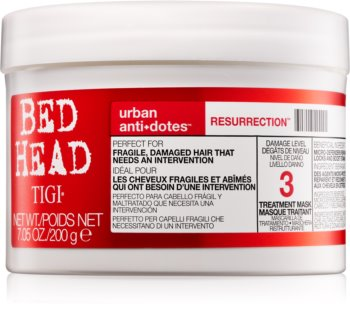 TIGI Bed Head Urban Antidotes Resurrection poživljajoča maska za poškodovane in krhke lase