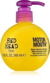 TIGI Bed Head Motor Mouth cremă pentru volum cu efect de neon