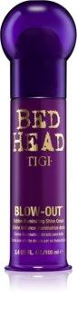 TIGI Bed Head Blow-Out crème illuminatrice dorée pour lisser les cheveux