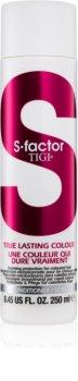 TIGI S-Factor True Lasting Colour condicionador de proteção para cabelo pintado