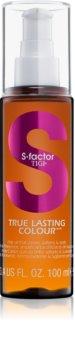 TIGI S-Factor True Lasting Colour cuidado de óleo  para cabelo pintado