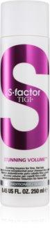 TIGI S-Factor Stunning Volume Condicionador para cabelos finos e fracos