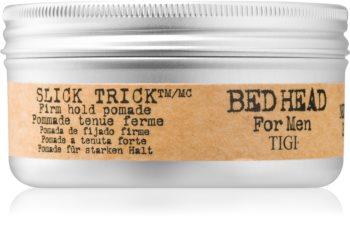 TIGI Bed Head B for Men Slick Trick pomáda na vlasy se silným zpevněním