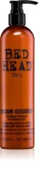 TIGI Bed Head Colour Goddess shampoing à l'huile pour cheveux colorés