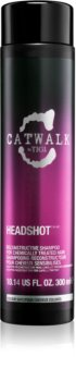 TIGI Catwalk Headshot regenerační šampon pro chemicky ošetřené vlasy