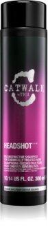 TIGI Catwalk Headshot shampoing régénérant pour cheveux traités chimiquement