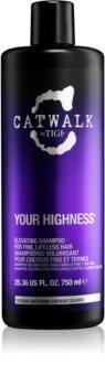 TIGI Catwalk Your Highness shampoo volumizzante