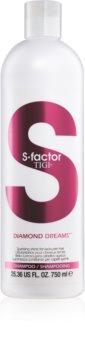 TIGI S-Factor Diamond Dreams champô para cabelo brilhante e macio