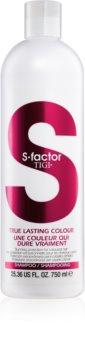 TIGI S-Factor True Lasting Colour ochranný šampon pro barvené vlasy