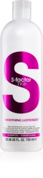 TIGI S-Factor Smoothing Lusterizer champô para cabelos crespos e inflexíveis