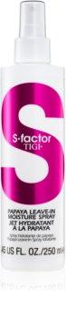 TIGI S-Factor Styling spray hidratante para cabello seco y dañado