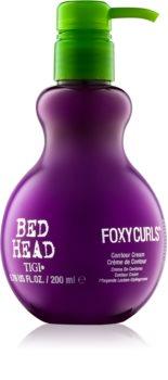 TIGI Bed Head Foxy Curls krem pielęgnujący i utrwalający loki