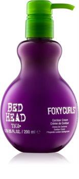 TIGI Bed Head Foxy Curls pečující a tužicí krém pro definici vln